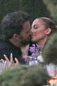 For more about jennifer lopez and ben affleck, pick up the latest issue of people , on newsstands friday. Ben Affleck Jennifer Lopez Kiss At Dinner In Pda Packed Photos