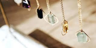 unique necklace charms by gemstone bracelet