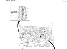 i have a xterra w engine and the air conditioning you will need a volt meter to test the thermo control amp wiring because it is more or less a resistor we can check the relay for power and ground signal