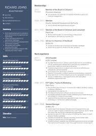Resume Board Member Board Member Resume Samples Templates Visualcv