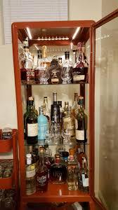Alcohol Cabinet My Cheap Ikea Liquor Cabinet Whiskyporn