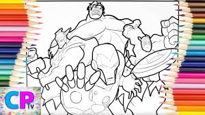 We gathered best collection of free games like iron man coloring especially for you! The Avengers Coloring Pages Cool Picture Of Iron Man Hulk Captain America Thor Youtube
