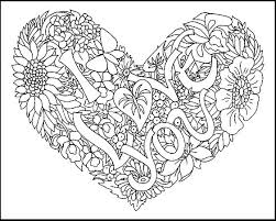 I Love You Coloring Pages Printable I Love You Color Pages Colouring