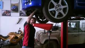 Toyota Yaris Gearbox Oil Change - YouTube