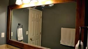 wood framed mirrors. Wood Framed Mirror Exclusive Bathroom Mirrors Home Design Ideas Frame .