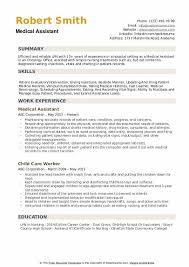 Medical Assistant Resume Samples Qwikresume