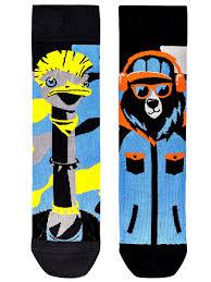 """Носки """"Страус с медведем подарочный комплект """" Tatem Socks ..."""