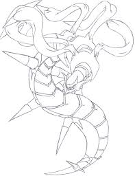 Pokemon Giratina Coloring Pages Coloring Pages