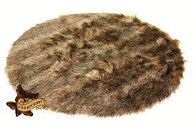 deer skin faux fur rug bear wolf accent throw carpet sheepskin round