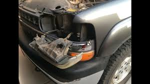 2000 Gmc Sierra Daytime Running Light Bulb Number How To Change Headlight Turn Signal And Running Lights Chevy Silverado Gmc Sierra Suburban Yuk