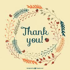 tarjeta de agradecimientos tarjeta de agradecimiento vintage gratis descargar vectores gratis