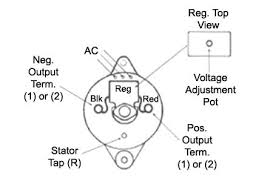 prestolite leece neville gm 2 wire alternator wiring diagram at Two Wire Alternator Wiring Diagram