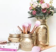 mason jar makeup brush holder. 25+ unique makeup brush holders ideas on pinterest | holder diy, organizer and diy jar mason