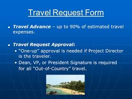 Travel Request Form Travel Request Form Travel Expenses Claim Travel ...