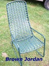 vinyl chair strapping patio