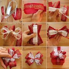 How To Tie A Christmas Bow