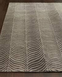 brown zebra print bath rug gray x bros mu