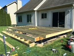 floating deck plans rogue engineer building a build on concrete