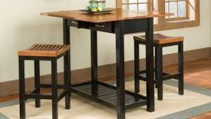 Dining Room: Elegant Small Expandable Dining Table Sets With Storage Above Laminate  Wood Floor Use