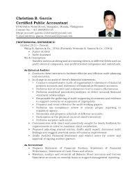 Sample Resume Accountant Resume Bank