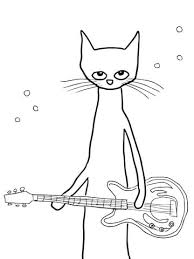 Pete The Cat Coloring Iby7 Pete The Cat Coloring Page Free