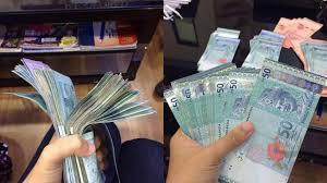 Image result for wanita melayu simpan duit