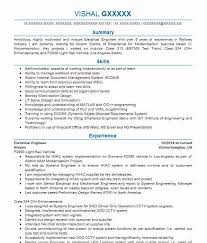 Cv Samples For Engineering Students 1499 Electrical And Electronic Engineers Cv Examples Engineering