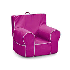 kidz world furniture kids seating mixy 1600 1 ps kidz all foam tag along chair pink suede chairs from king appliance furniture