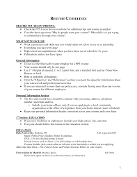 Resume Education Format Fresh Put First Or Last Class Of Address On