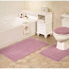 kitchen rugs bath mat pale pink bathroom runner 3 piece rug sets set home design top