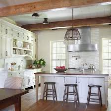 Image Kitchen Cabinets In Contemporary Farmhouse Kitchens You Could Combine Timeless Cabinets Exposed Wooden Beams And Modern Looking Digsdigs 35 Cozy And Chic Farmhouse Kitchen Décor Ideas Digsdigs