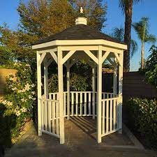 12ft wooden amish country gazebo pool