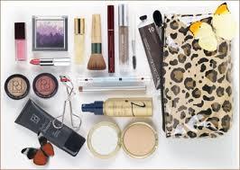 a makeup bag makeover