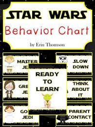 Star Wars Behavior Chart Star Wars Behavior Charts Editable