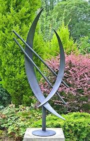 sculpture garden wedding present art contemporary modern metal sculptures large for