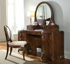 Mirrored Bedroom Bench Vanity With Lighted Mirror And Bench A Hegimt Vanity Site