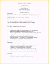 Singular Resume Template Doc For Your Achievement