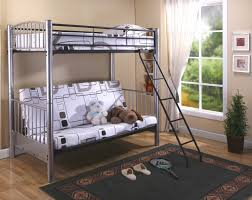 Wonderful Design and benefits of using a metal futon bunk bed ...