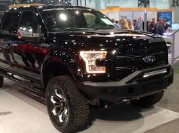 2018 ford black widow. fine widow black widow f150 and silverado displayed at nada  medium duty work truck  info intended 2018 ford black widow