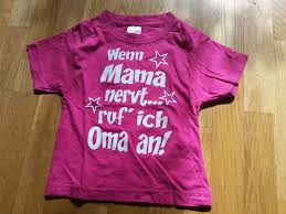Lustiges Sprüche T Shirt Gr 80 Mädchen Baby In 75203 Königsbach