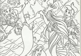 New Little Mermaid Ariel Coloring Pages Google Search Free