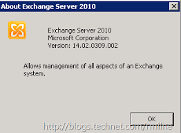 How To Check Exchange Rollup Version 250 Hello