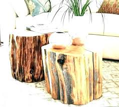 tree trunk table base tree nk furniture dining table intended stump large size chairs pictures base