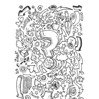 Small Picture Doodle Coloring Pages Surfnetkids