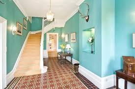 design ideas and color schemes for hallways