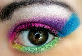 this look was inspired but hot 80 s color pop heres the photo i used for refrence