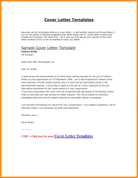 Microsoft Word Resume Cover Letter Template Resumes And Letters