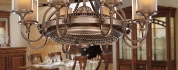 marvelous copper with 8 light ceiling fan chandelier for living room decor