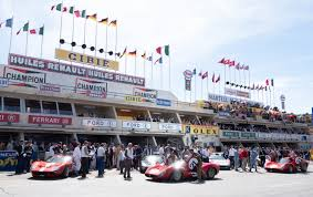 Ford even coordinated it so that both gt40s would finish at the same time and set up the perfect photo opportunity. Car Enthusiasts Will Appreciate Ford V Ferrari S Big Budget Sets Architectural Digest