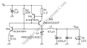 led driver circuit diagram the wiring diagram discrete high current switch mode led driver simple circuit diagram circuit diagram